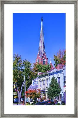 Downtown Madison II Framed Print