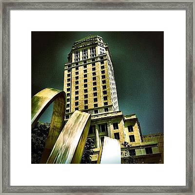 Downtown Miami Courthouse Framed Print