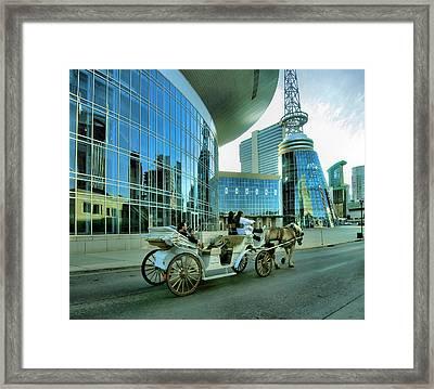 Downtown Nashville Iv Framed Print by Steven Ainsworth