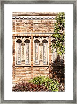 Downtown Northampton - Church Framed Print