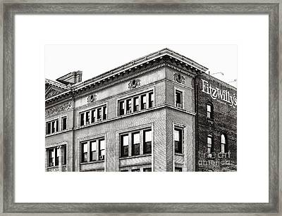 Downtown Northampton - Fitzwilly's Framed Print by HD Connelly