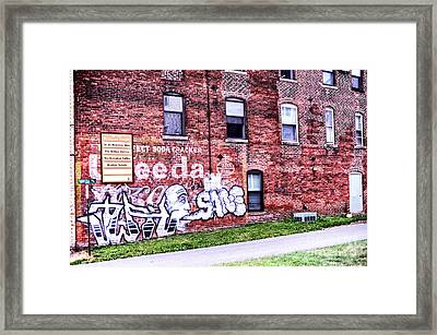 Downtown Northampton - Florida Ave Framed Print