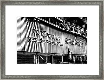 Downtown Northampton - The Bootery Framed Print by HD Connelly