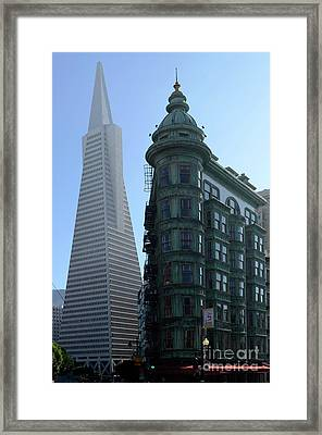 Downtown San Francisco 2 Framed Print by Bob Christopher