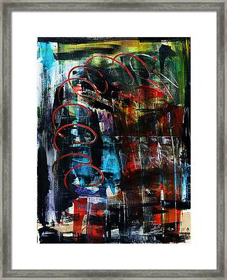 Downwards Framed Print by Terrance Prysiazniuk