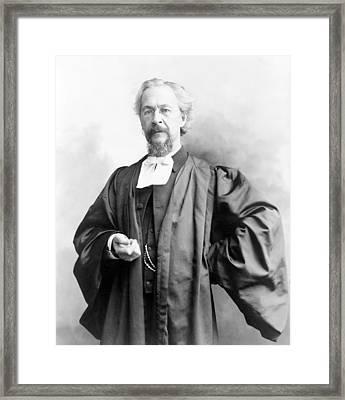 Dr. Charles H. Parkhurst, Anti-tammany Framed Print by Everett