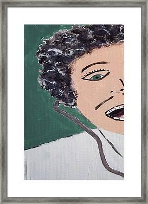 Dr. Fran-kin-steen Framed Print