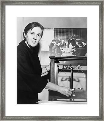 Dr. Frances Oldham Kelsey Framed Print by Everett