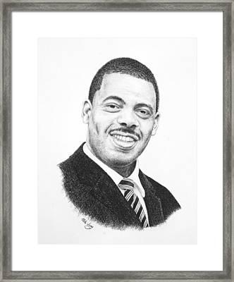 Dr. Kenny Baldwin Framed Print