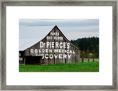 Dr. Pierce Barn 110514.98.1 Framed Print