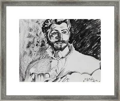 Dr. Pozzi Framed Print