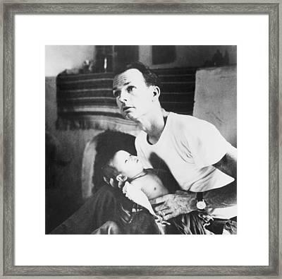 Dr. Thomas A. Dooley 1927-1961 Framed Print