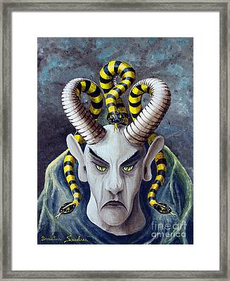 Dracu Mort From Arboregal Framed Print