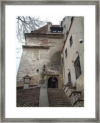 Dracula Castle Bran Transylvania Framed Print by Mircea Veleanu