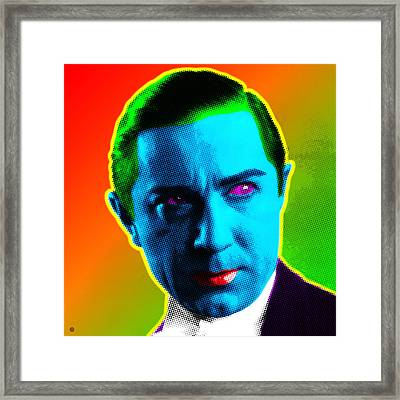 Dracula Framed Print by Gary Grayson