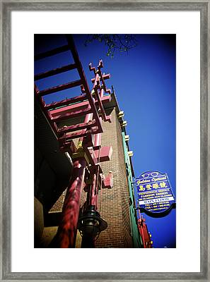 Framed Print featuring the photograph Dragon City by JM Photography