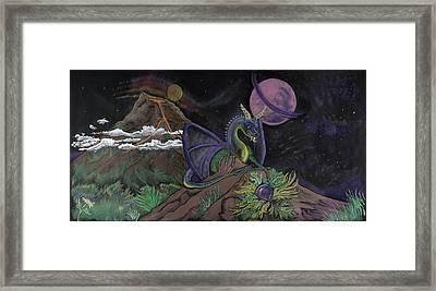 Dragon Dreamz Framed Print by Robin Hewitt