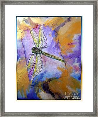 Dragonfly Dreams Framed Print by M c Sturman
