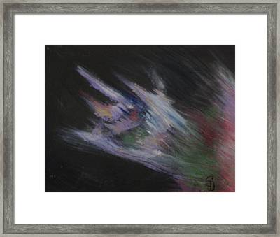 Dragon's Breath Framed Print