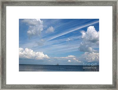 Framed Print featuring the photograph Drama In The Sky by Vilas Malankar