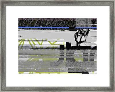 Drama Framed Print by Naxart Studio