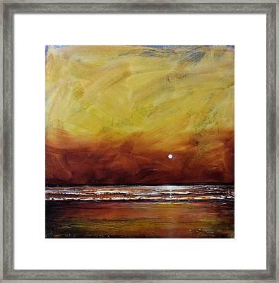 Drama Ocean Framed Print by Toni Grote