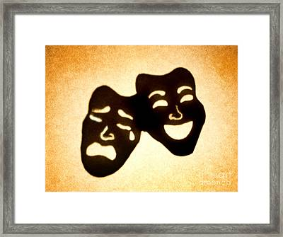 Drama Framed Print by Tony Cordoza