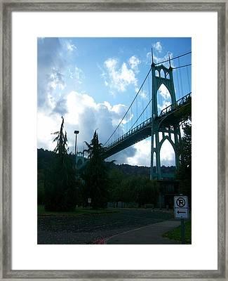 Dramatic St. Johns Framed Print