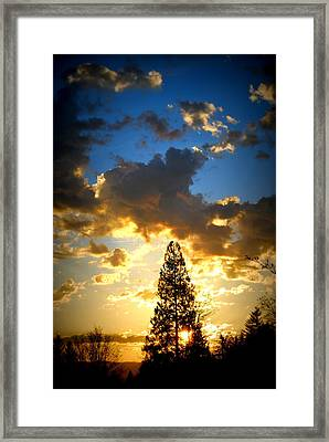 Dramatic Sunrise II Framed Print