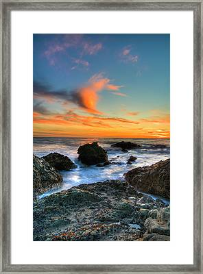 Dramatic Sunset Framed Print by Chasethesonphotography