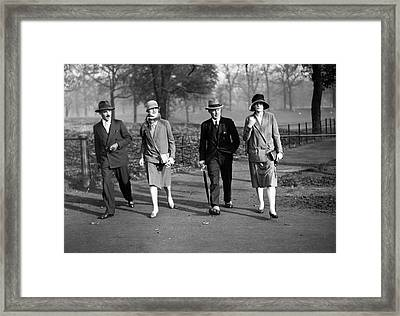 Drapers Show Framed Print by Kirby