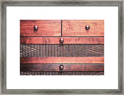 Drawers Framed Print