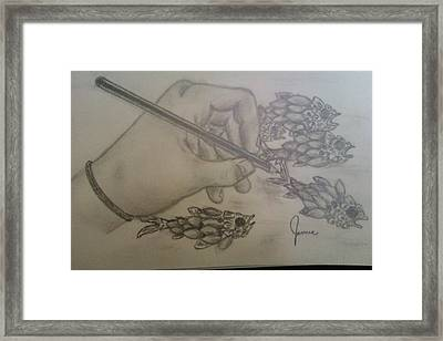Drawing The Imagination Framed Print by Jamie Mah