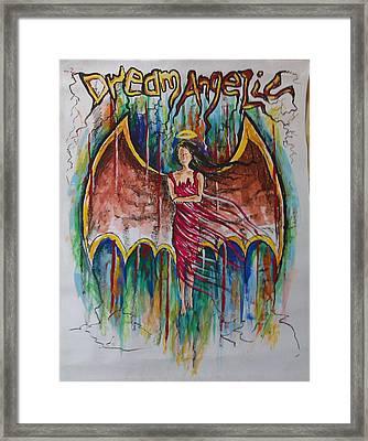 Dream Angelic Framed Print by Rohit Kumar