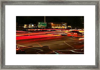 Dream Cruisin' Framed Print by Gordon Dean II