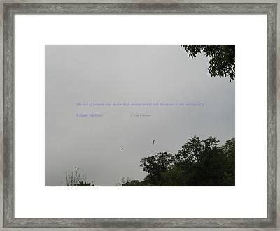 Dream High Framed Print