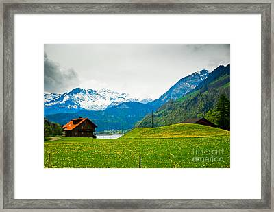 Dream Home Framed Print by Syed Aqueel