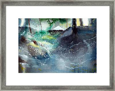 Dream House 2 Framed Print by Anil Nene