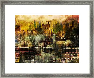 Dream In A Dream II Framed Print by Stefano Popovski