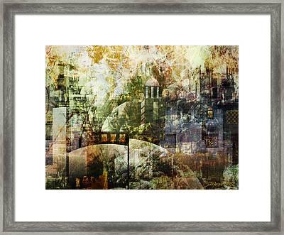 Dream In A Dream Framed Print