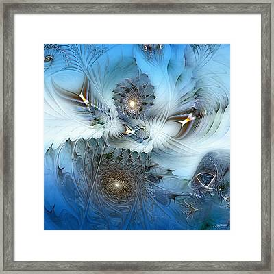 Framed Print featuring the digital art Dream Journey by Casey Kotas