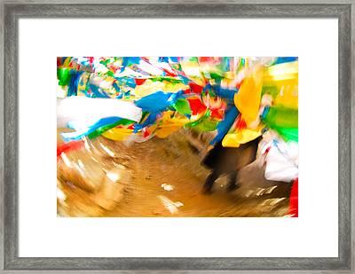 Dream Framed Print by Marko Moudrak