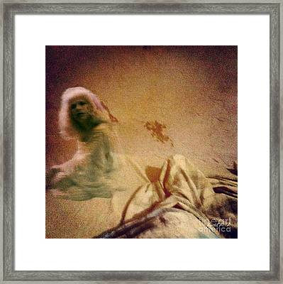 Dream Or Reality Framed Print by Fania Simon