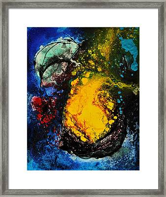 Framed Print featuring the painting Dream Seed by Christine Ricker Brandt