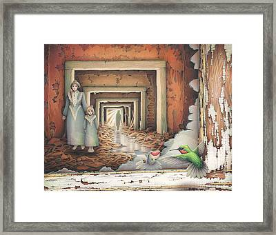 Dream Series - Transfixed Framed Print