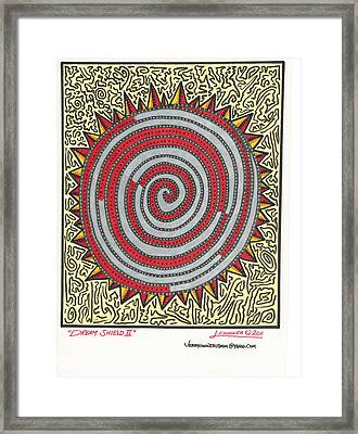 Dream Shield 2 Framed Print by Jerry Conner