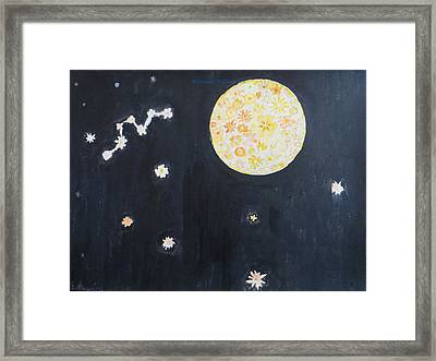 Framed Print featuring the painting Dream by Sonali Gangane