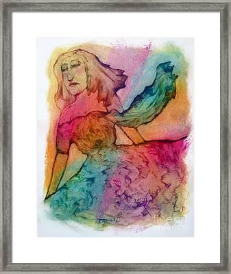 Dream Spring Framed Print by Linda May Jones