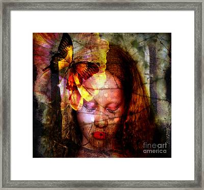 Dream With Me Framed Print