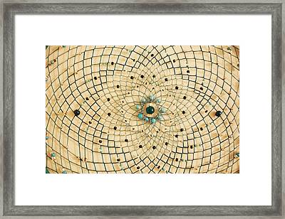 Dreamcatcher Framed Print by Yvonne Scott